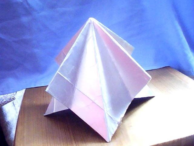 восьмигранная пирамида. Биозащита.